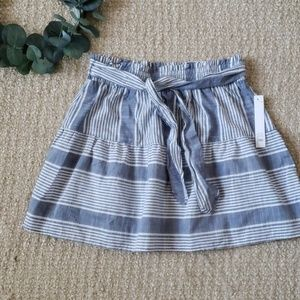 Joe  B by Joe Benbasset Stripe Mini Skirt size S